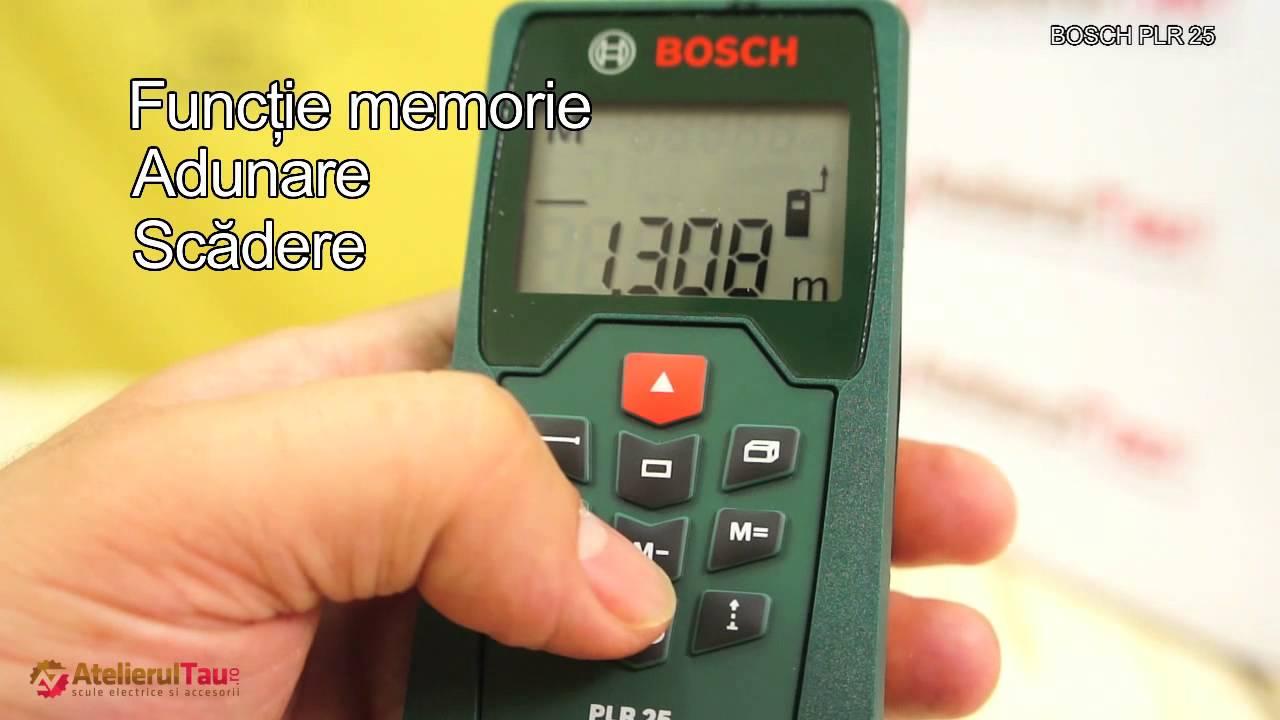Bosch Entfernungsmesser Plr 15 : Bosch laser entfernungsmesser plr 30 c app funktion 3x aaa