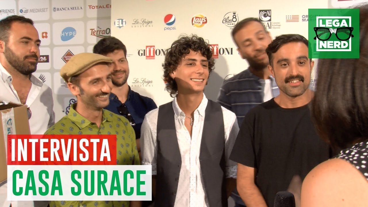 Casa Surace la video intervista dal Giffoni Film Festival  YouTube