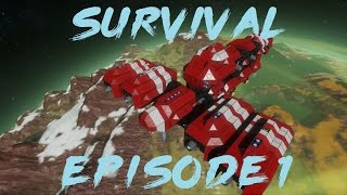 Space Engineers: Survival Episode 1