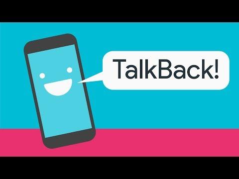 Assistive Tech: TalkBack