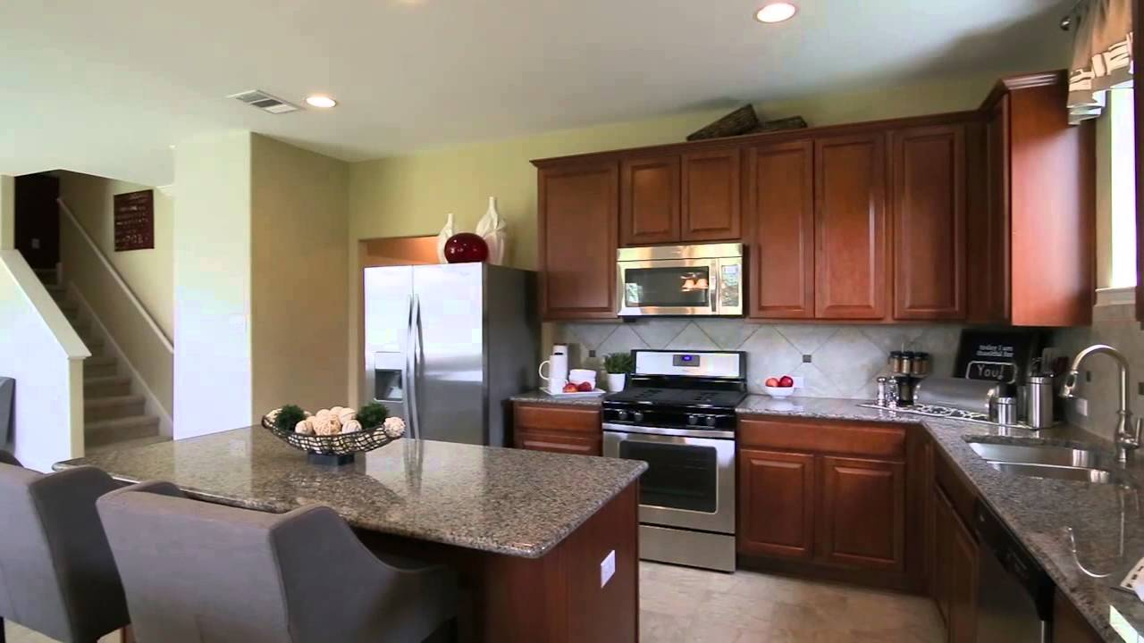 New Homes By Centex Sandalwood Floorplan Youtube