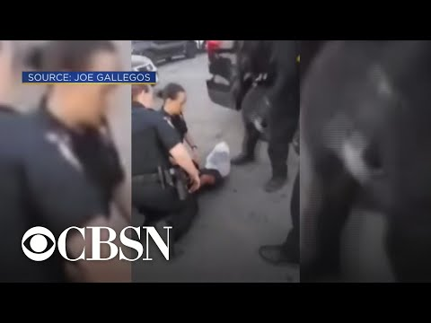 Crystal Rosas - Sacramento Police Arrest a 12-year-old and Put a Bag Over his Head