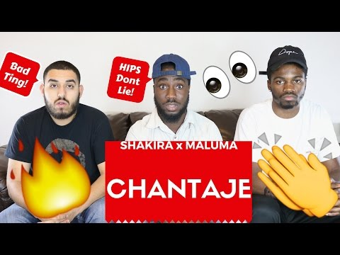 Shakira - Chantaje ft Maluna Official Reaction