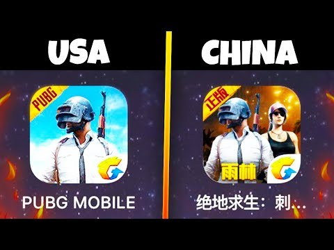 I Played The Chinese Version Of PUBG Mobile...