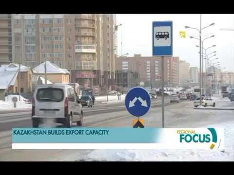 Kazakhstan is increasing export volumes
