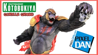 GORILLA GRODD ArtFX DC Universe Statue Kotobukiya action figur Neu