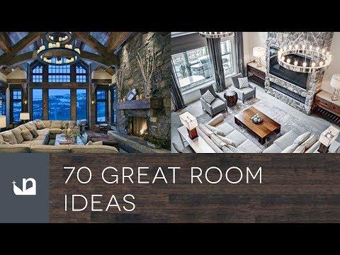 70 Great Room Ideas