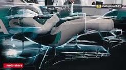X-Ray of a Formula 1 car