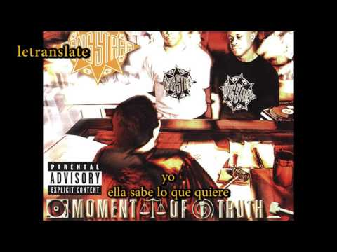 gang starr - she know what she wants - subtitulado español
