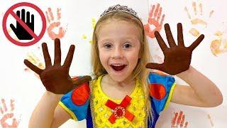 Nastya e novas regras de conduta para crianças
