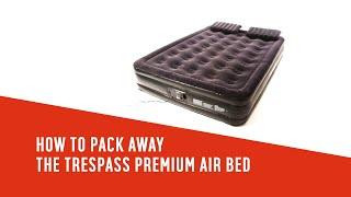 Trespass Single Premium Raised Air Bed.