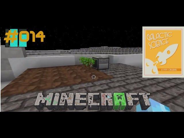 Let's Play Minecraft Galactic Science   Planlos an der Baumfarm   Folge #014