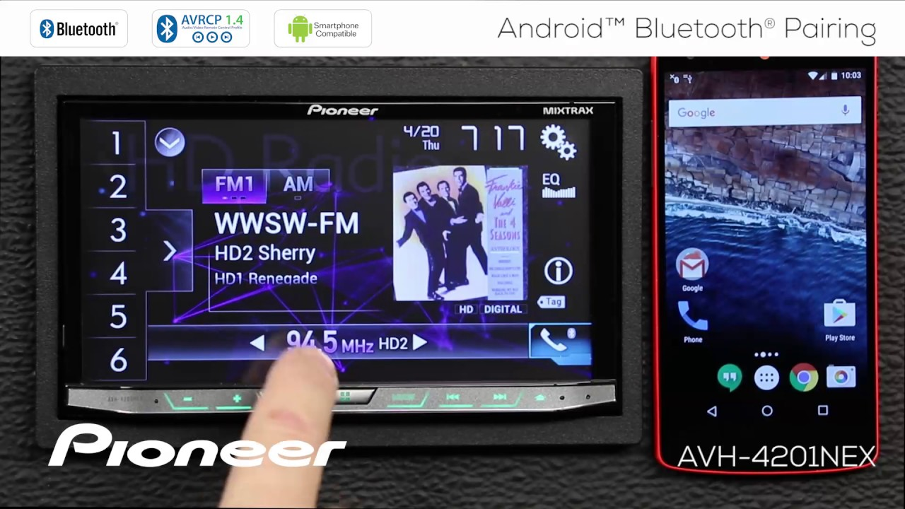 How To - Android Phone Bluetooth Pairing for Pioneer NEX Receivers 2017