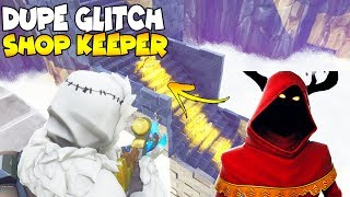Shop Keeper Finds a Duplication Glitch (Scammer Gets Scammed) Fortnite Save The World