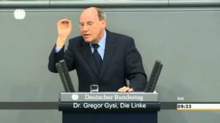 Krim-Krise: Gysi über Fehler von NATO und EU