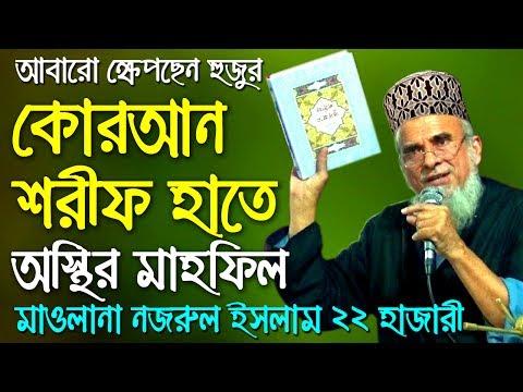 Bangla waz Mahfil Nazrul Islam 2017    ওয়াজ মাহফিল 2016 - মুফতি মওলানা সৈয়দ নজরুল ইসলাম - Waz TV
