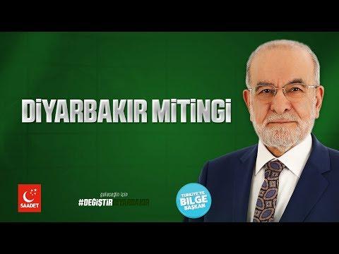 Diyarbakır Mitingi - Cumhurbaşkanı Adayı Temel Karamolloğlu - 17.06.2018