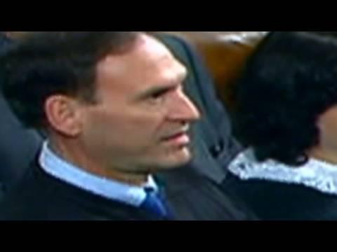 Justice Alito said 'Not true'