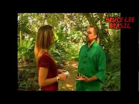Mestre Renan Tobias fala de Bruce Lee e o Kung Fu - Globo News (2008)