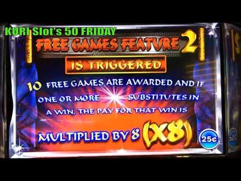 ★KURI $LOT $ERIE$ 50 FRIDAY #3☆Fun Slot Live Play★Quick Fire Flaming/Crazy Money /Ming Worrior Slot栗