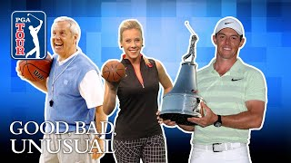 PGA TOUR March Madness, Rory gets buckets & Tiger's ultimate rejection 2017 Video