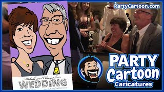 Party Cartoon Live Digital Caricatures