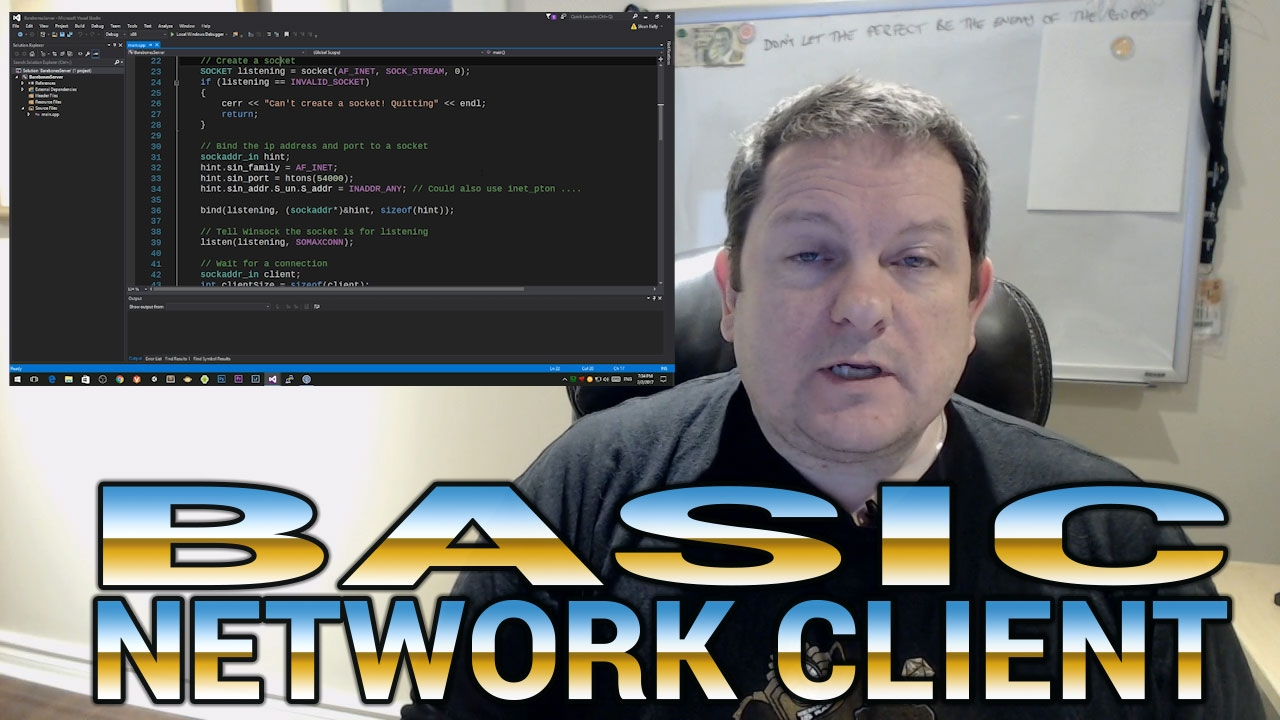 Creating a TCP Client in C++