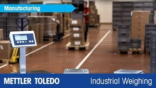 Key Features and Applications -- New Compact Scales ICS5 - METTLER TOLEDO Industrial - en