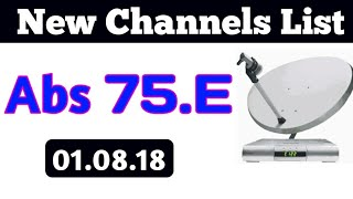 Abs 2 75.E New Channels List||75.E Abs2||Dth For You