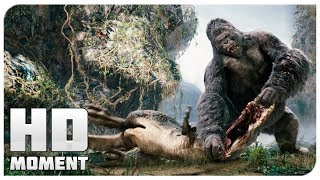 Битва с последним динозавром - Кинг Конг (2005) - Момент из фильма