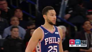 New York Knicks vs. Philadelphia 76ers | November 29, 2019
