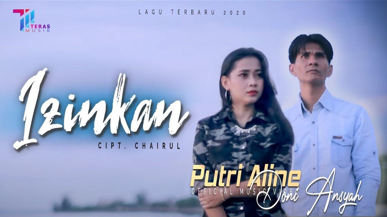 Putri Aline feat Doni Ansyah - IZINKAN [ Official Music Video ]