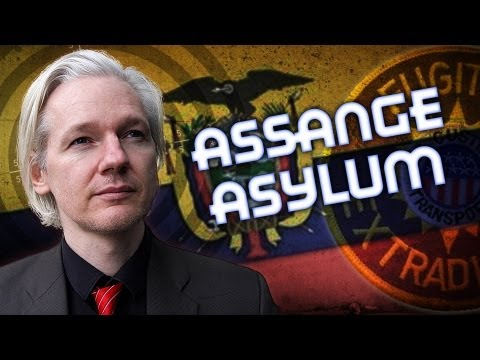 Julian Assange Granted Asylum By Ecuador