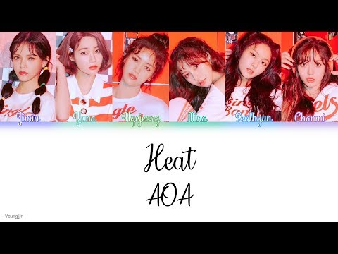 AOA (에이오에이) - Heat [Color Coded | Han | Rom | Eng]