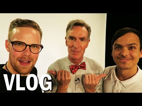 Hanging Out With Bill Nye & Neil deGrasse Tyson! (Vlog #31)