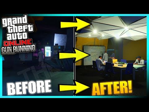 GTA ONLINE - HOW TO USE RESEARCH TO GET GUNRUNNING UNLOCKABLES FOR WEAPONS AND VEHICLES (GTA 5 DLC)