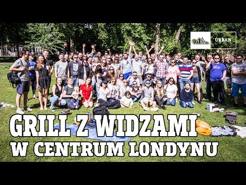 Grill z WIDZAMI w centrum LONDYNU ( LINCOLN'S INN FIELDS )