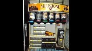 For Sale: MillStone Retail Coffee Lighted Display Case w/ Grinder (Grindmaster) $650