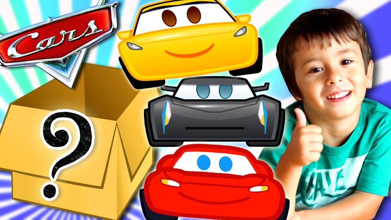 Cajas de sorpresas de cars para dani y evan juguetes de rayo mcqueen de disney cars youtube - Juguetes de cars disney ...