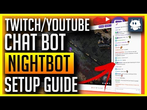 Nightbot - Twitch/YouTube Setup (Commands, Giveaways, Spam