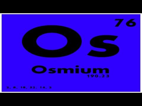 Study guide 76 osmium periodic table of elements youtube study guide 76 osmium periodic table of elements urtaz Choice Image
