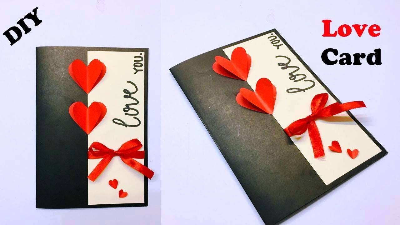 Love Greeting Cards Latest Design Handmade  I Love You Card Ideas  Card  Making Ideas  #3
