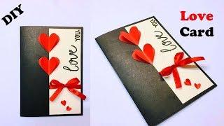 Greeting Cards Latest Design Handmade | I Love You Card Ideas 2019