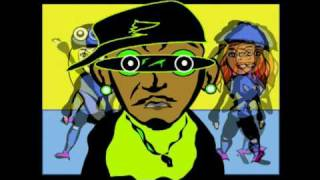 B ist in crazy Kontrolle cartoon hip-hop-freestyle von toonanation(lol)