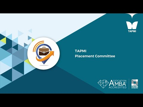 TAPMI   Placement Committee