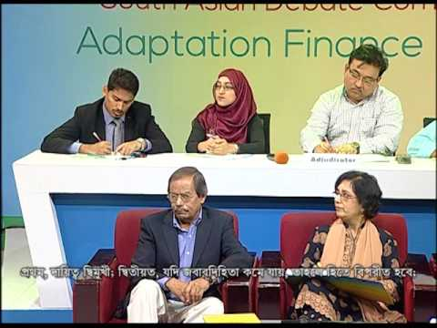 South Asian Debate Competition on Adaptation Finance Governa
