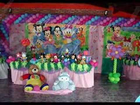 Festa baby disney youtube - Muebles de princesas disney ...