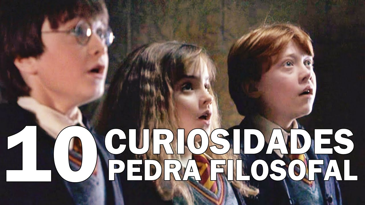 Harry Potter É A Pedra Filosofal intended for 10 curiosidades do filme harry potter e a pedra filosofal - youtube