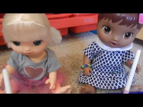 Baby Alives Opal and Tamara Color & Get In Trouble