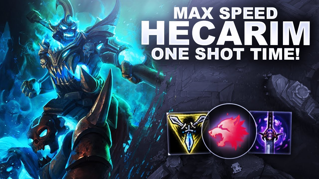 Hecarim Aram Super Speed Dmg Peatix Try buying items with these stats in order to. peatix